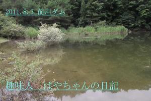 2011.8.3 前川ダム.JPG