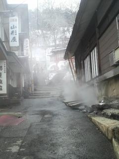 蔵王温泉 須川神社への階段.JPG