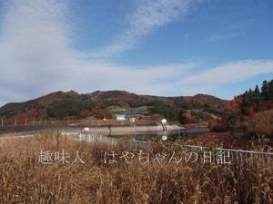 晩秋の花森湖.JPG
