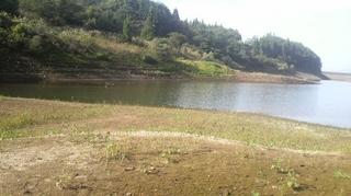 花森湖のインレット.JPG