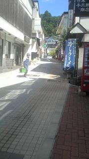 蔵王の温泉街.JPG
